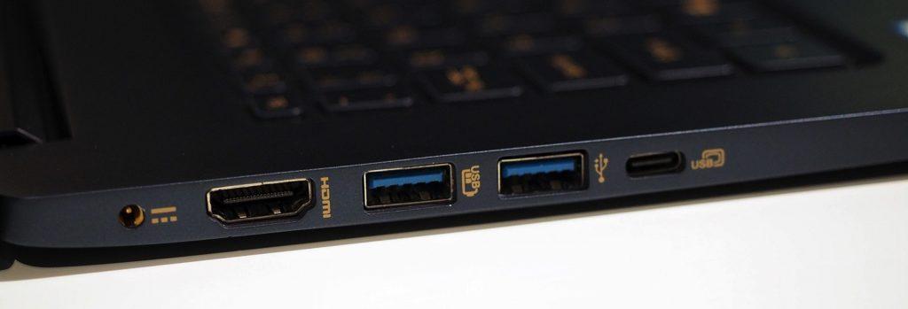 Acer Swift 5 15-inch I/O
