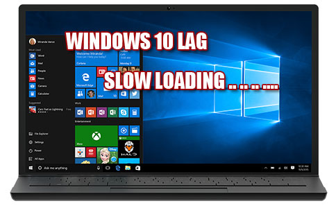 Windows 10 slow on loading startup or software running slow