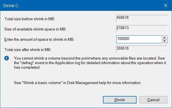 How To Resize Partition On A Hard Disk
