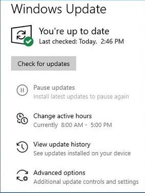 Microsoft Windows 10 May 2019 Latest Updates